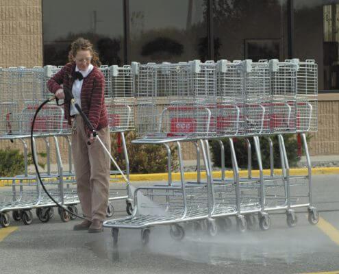 Grocery Carts Hotsy
