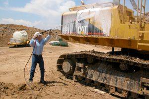Construction Vehicle Cleaning   Hotsy Equipment Company
