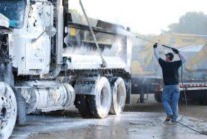 Hotsy at Work - 5 - Truck Pressure Washing