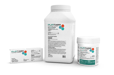 PURTABS Disinfecting and Sanitizing Solution