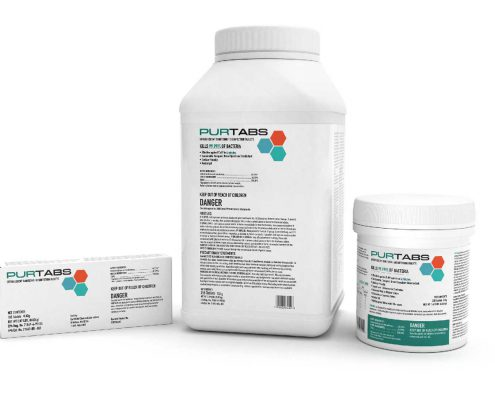 PURTABS Disinfecting Solution