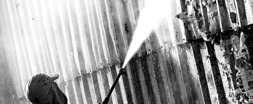 Will hot water damage a pressure washer?