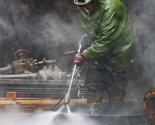 How to winterize your hot water pressure washer